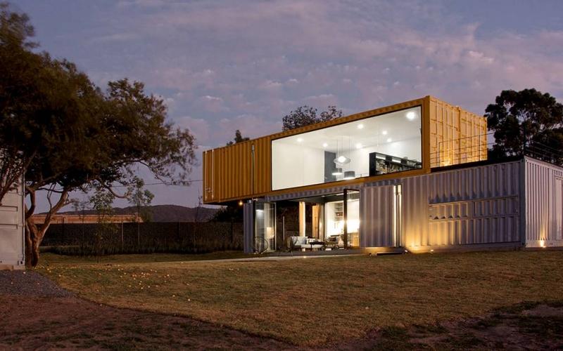 Les maisons écologiques au Nouveau-Mexique